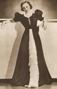 1930s-Fashion---Hollywood-Screen-Stars-show-their-glamour---Olivia-de-havilland