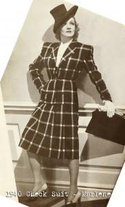 1940-check-suit---Marlene-Deitrich