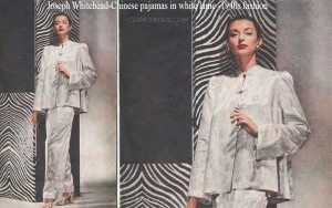 Joseph-Whitehead-Chinese-pajamas-in-white-lame--1940s-fashion