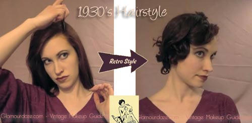 Tia Semers How To Pin And Roller Curl A 1930s Hairstyle Glamour