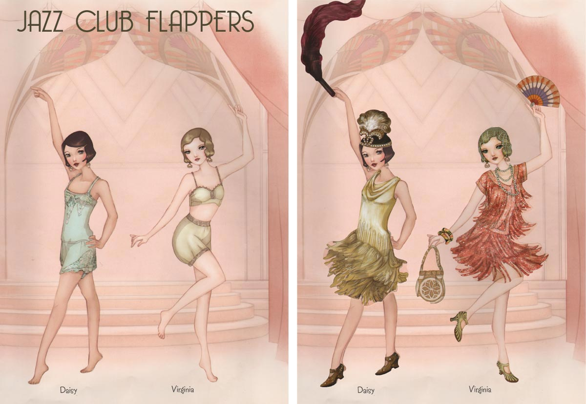 1920s fashion animation