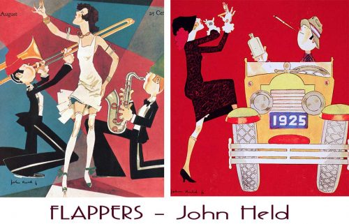 1920's Flappers - The art of John Held