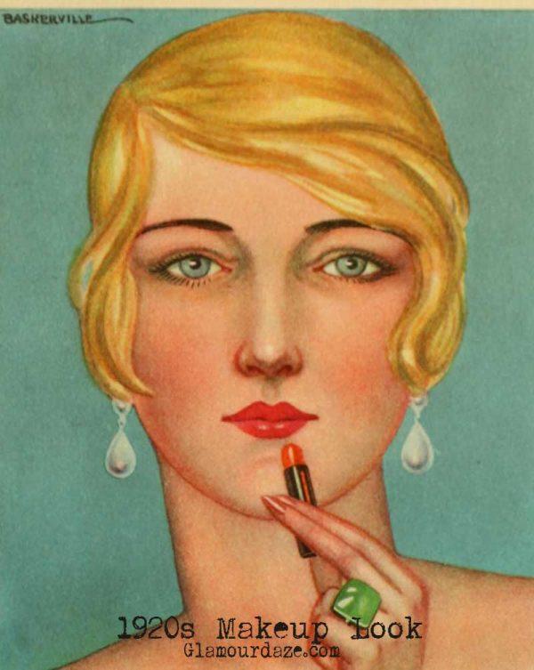 Six 1920's hair and makeup tips