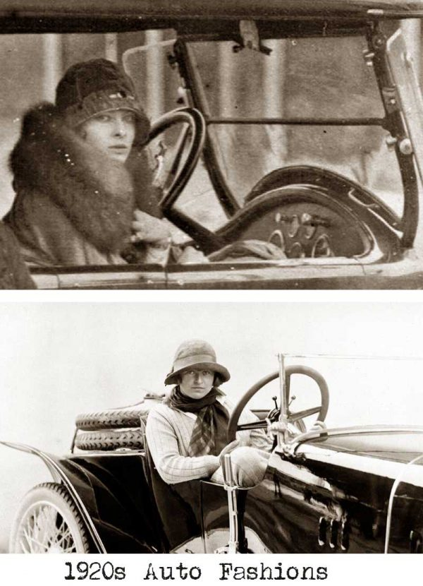 1920s women and automobiles