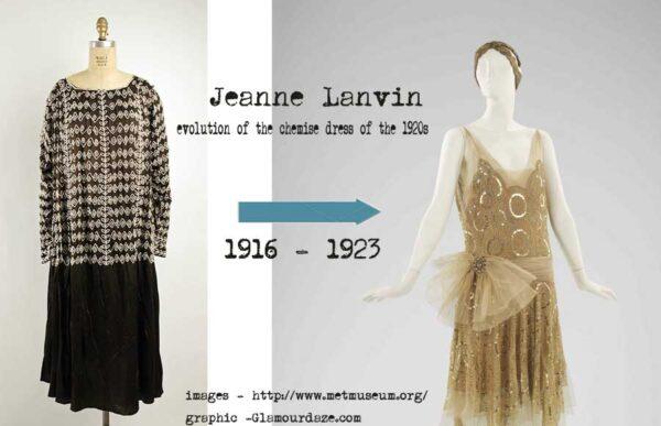 1920s chemise dress