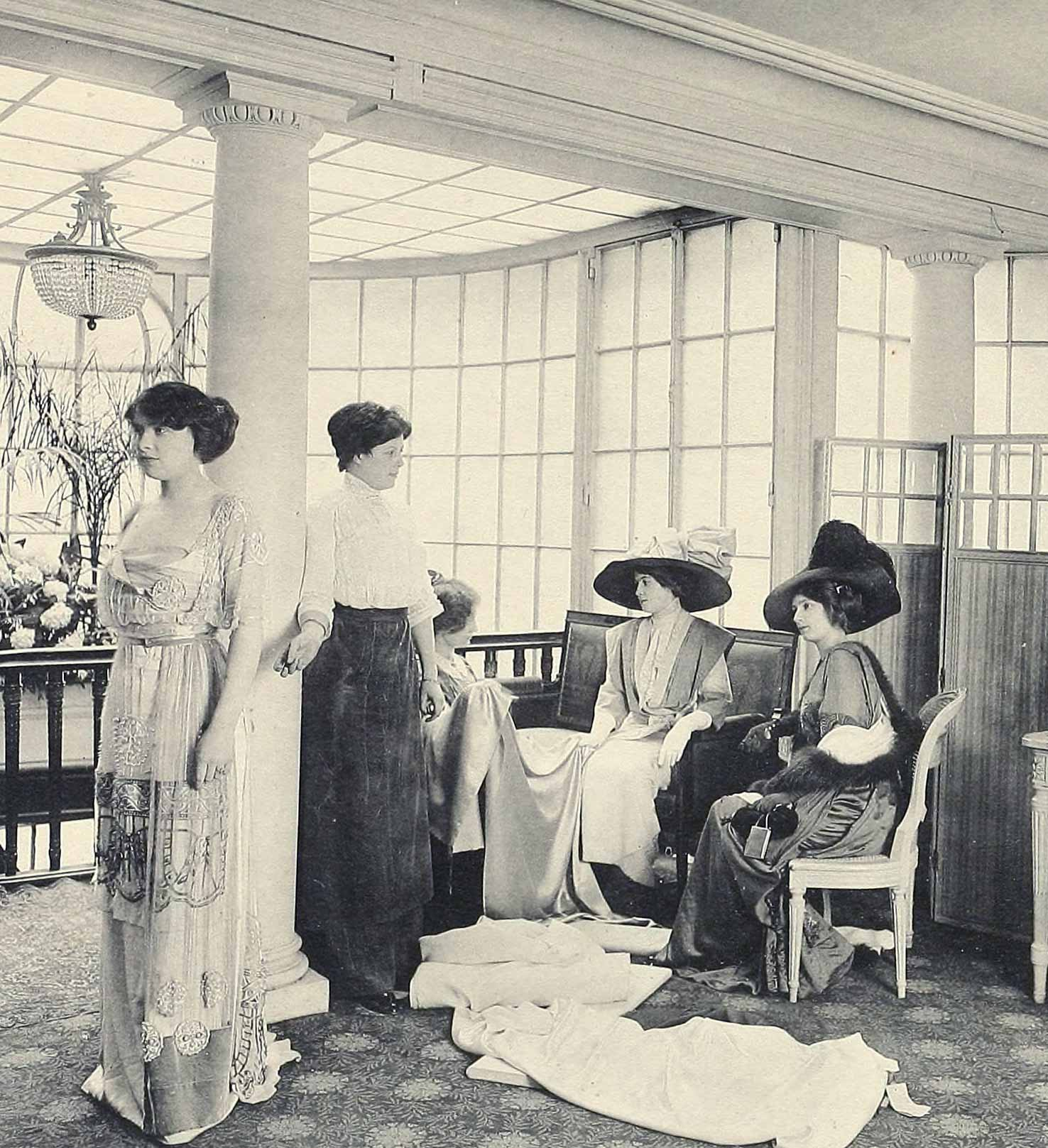1910 fashion images les createurs de la mode glamourdaze for Salons de paris