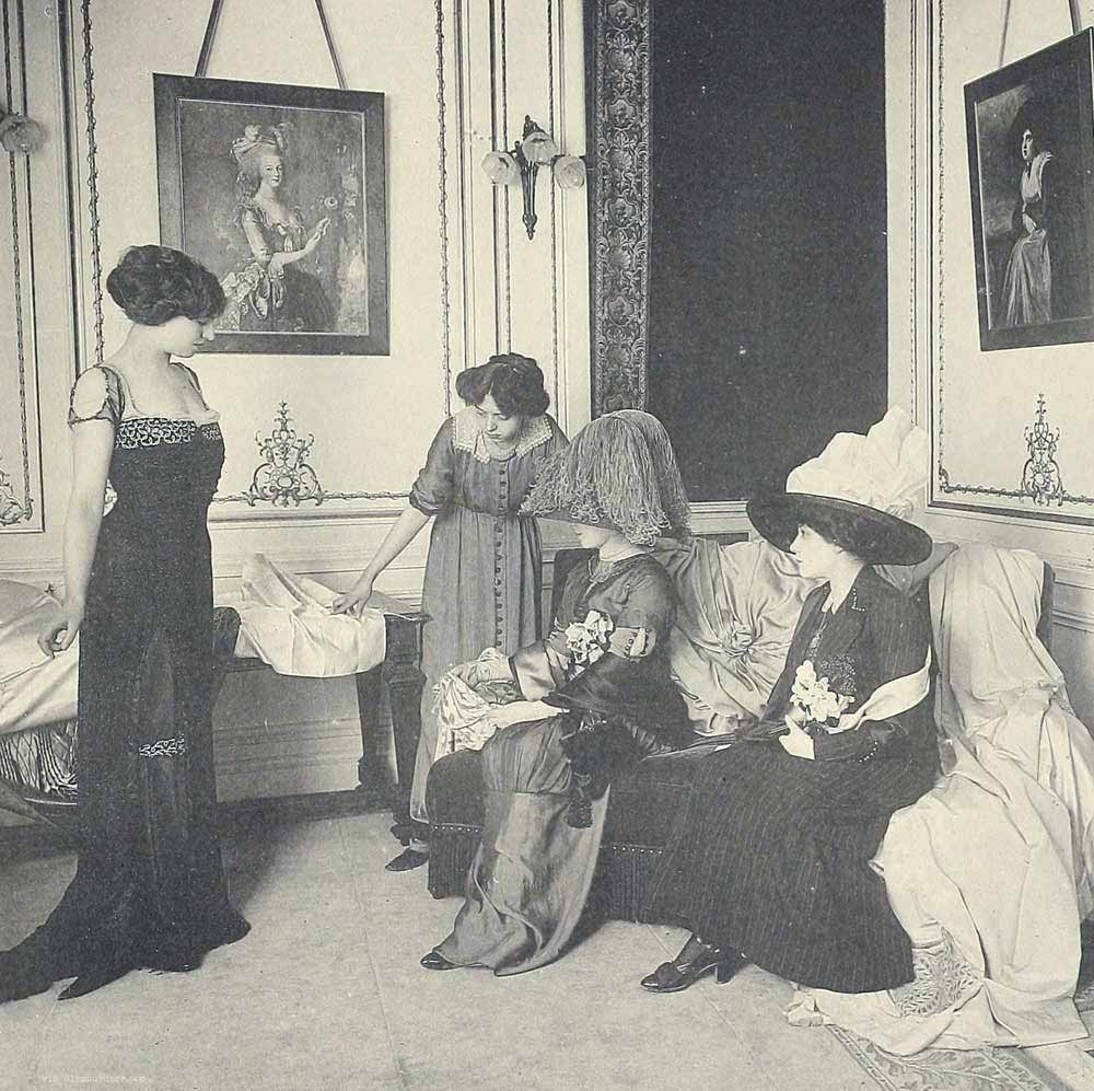 1910 fashion images les createurs de la mode glamourdaze - Salon de the paris 13 ...