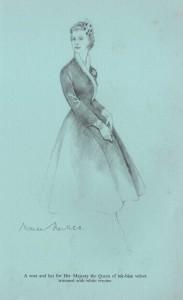 Norman-Hartnell---Queen-Elizabeth-11-coat-and-frock