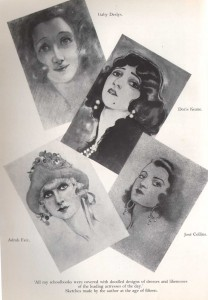 Norman-Hartnell---fashion-designer---early-sketches