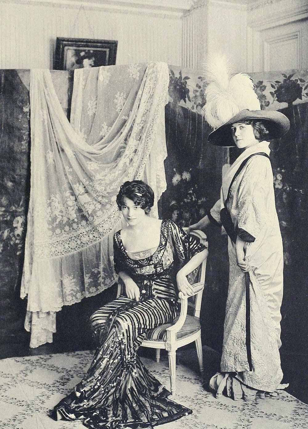 1910 fashion images les createurs de la mode glamourdaze for Les modeles de salon