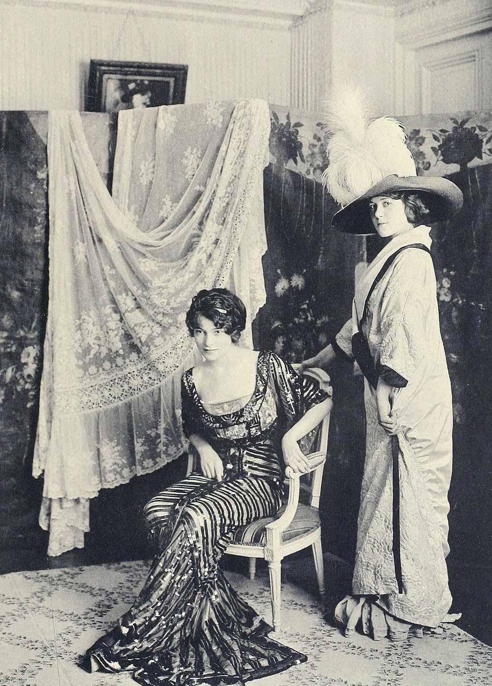 1910 fashion images les createurs de la mode glamour daze for Pareti salone