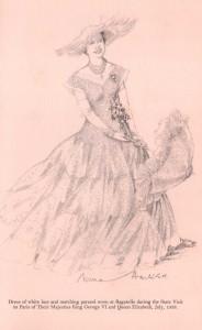 Queen-Elizabeth-White-Wardrobe-Paris-1938