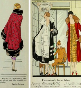 1920s fashion - art-gout-beaute-1925---evening-coats-by-Lucien-Lelong