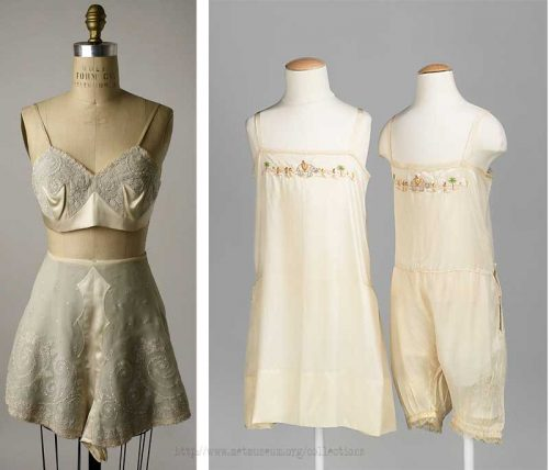 1920s-Embroidered-silk-tap-pants-and-bra---Met-Museum