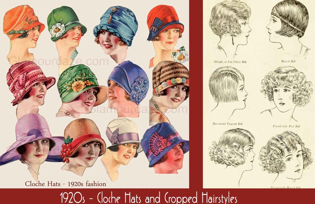 1920s-Fashion---Cloche-Hats-and-Cropped-Hairstyles