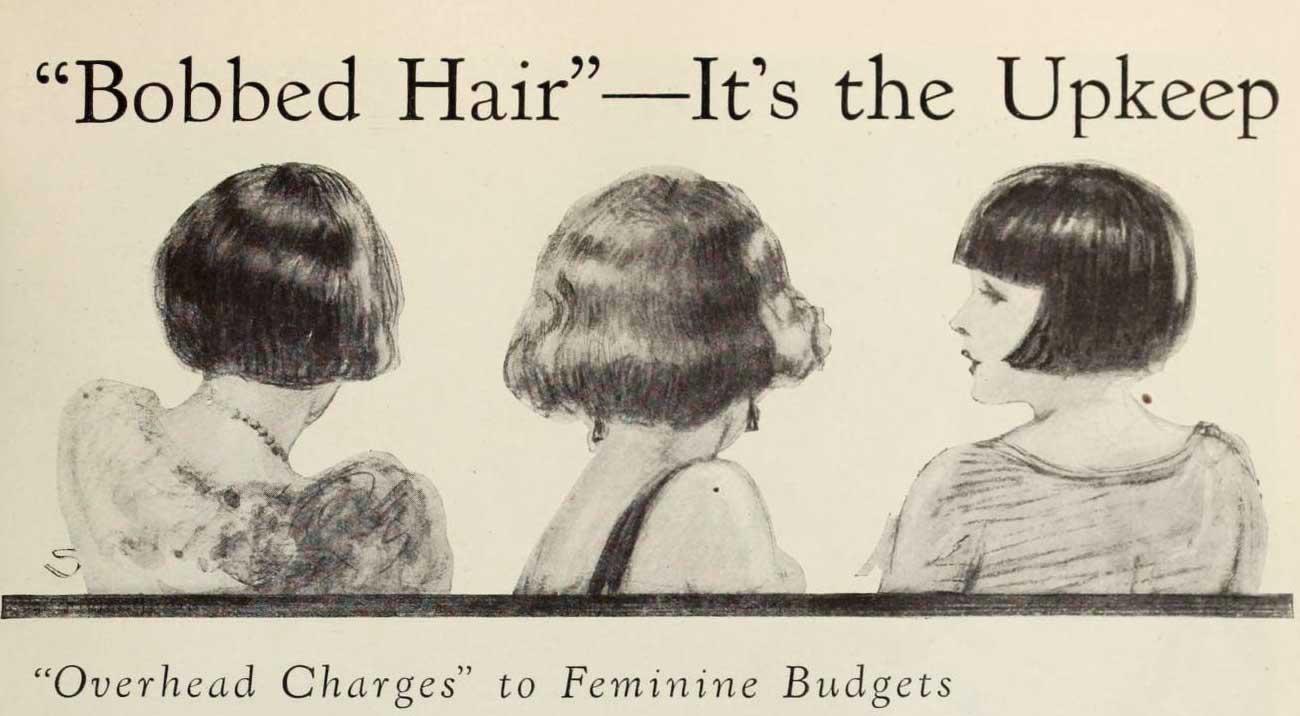 The Bobbed Hair Phenomenon Of 1924