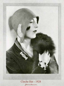 1920s fashion -cloche-hat-glamourdaze
