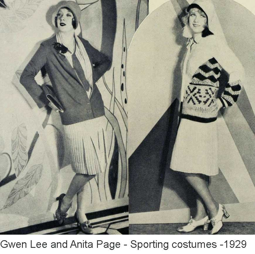 Gwen-Lee-Anita-Page---sports-costume-fashion---1929