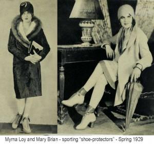Myrna-Loy---shoe-protectors---1929