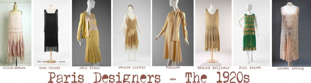 1920s fashion - The-Great-Paris-Fashion-Designers