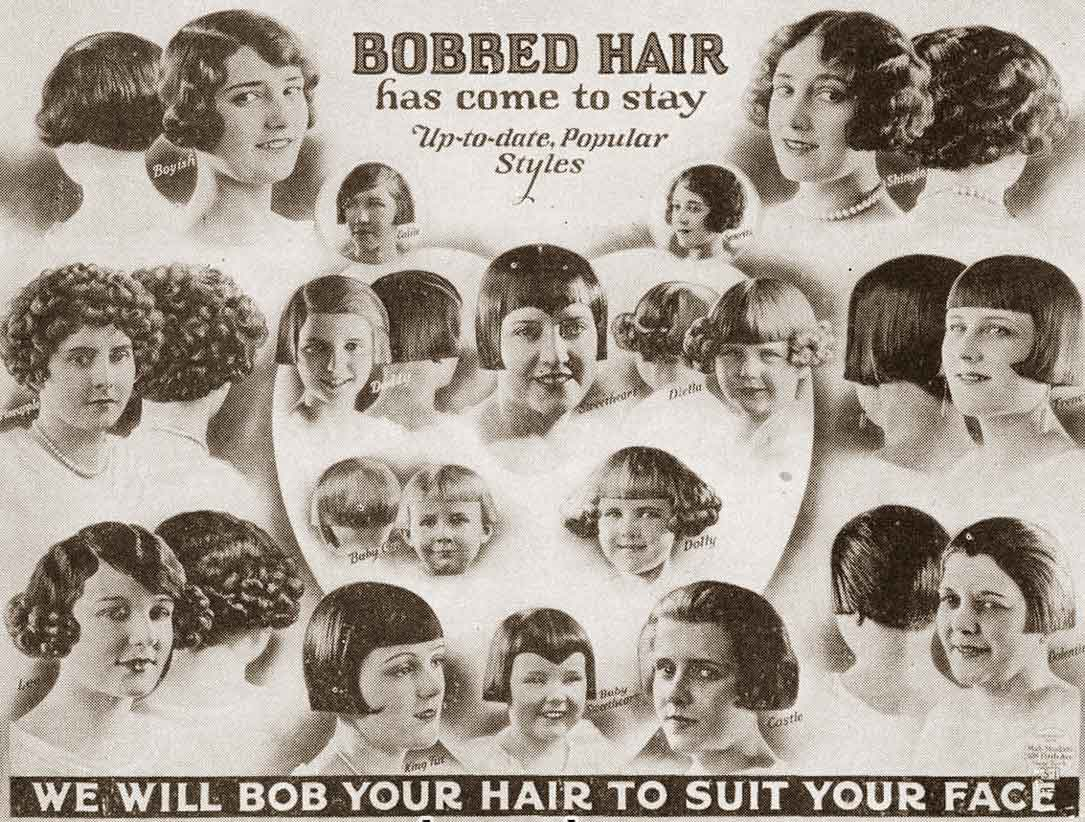 1920s hairstyles – the bobbed hair phenomenon of 1924. | glamourdaze