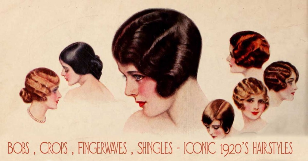 1920s fashion - bobs-crops-fingerwaves-shingles---iconic-1920s-hairstyles