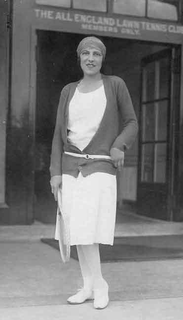 1920s sportswear -suzanne lenglen