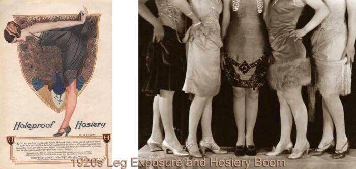 1920s leg exposure