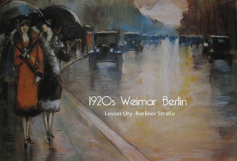 1920s-Weimer-Berlin---Lesser-Ury--Berliner-Straße-3