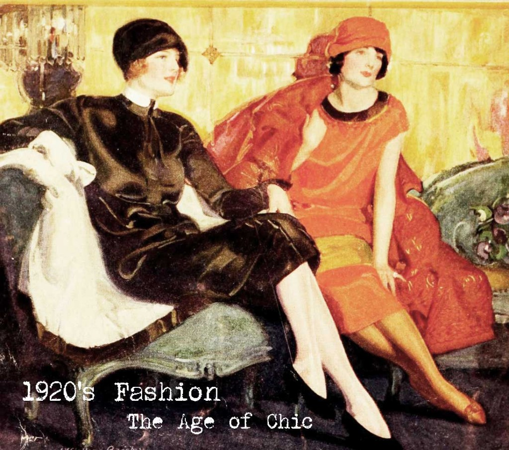 1920s fashion - the age of chic
