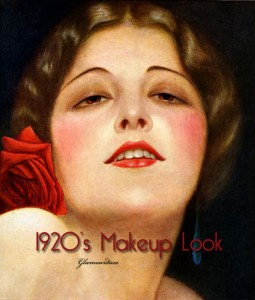 1920s fashion -make up for alluring eyes