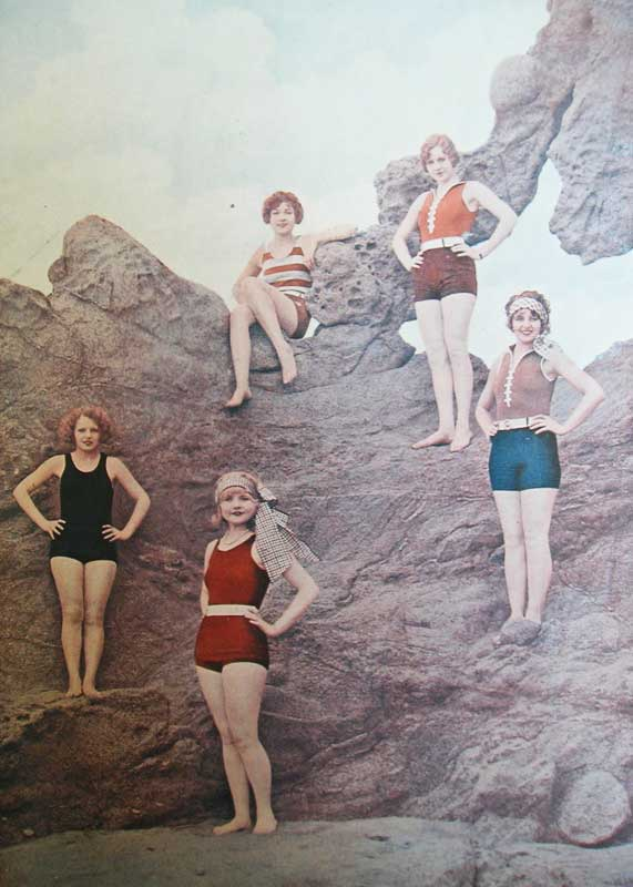 1920s fashion swimsuits