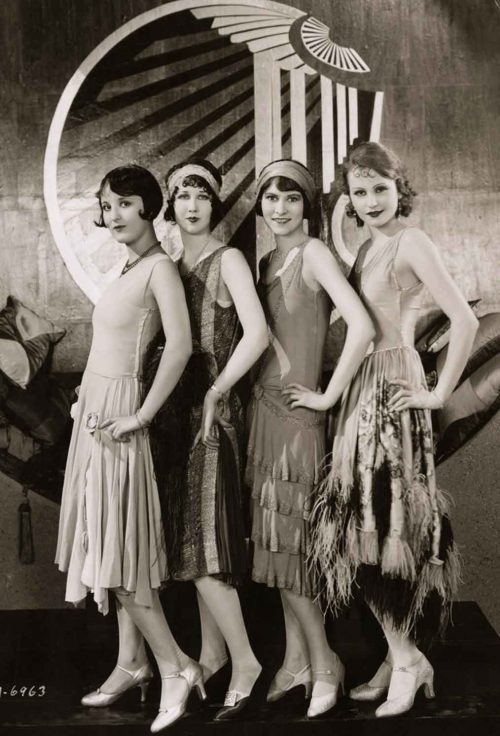 flapper dresses - 1927 evening dresses