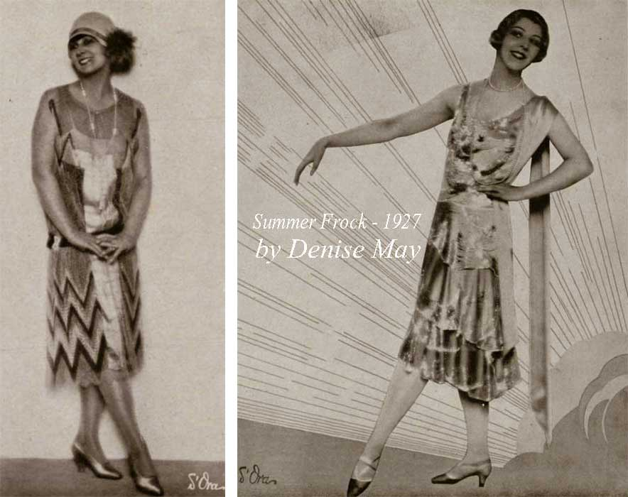 1920s fashion-1927-summer-frocks