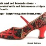 3--1920s-dress-shoes-Black-and-red-brocade-shoes-