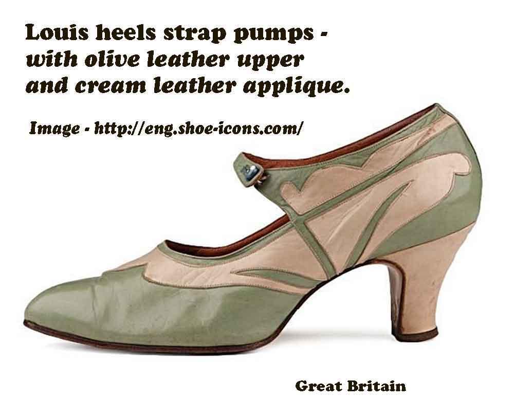 1920s Womens Dress Shoe History Of Womens Fashion 1920 To 1929 Glamourdaze