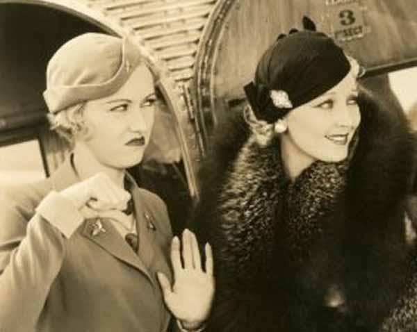 Besame Cosmetics Make-up History - 1930s Air Stewardesses