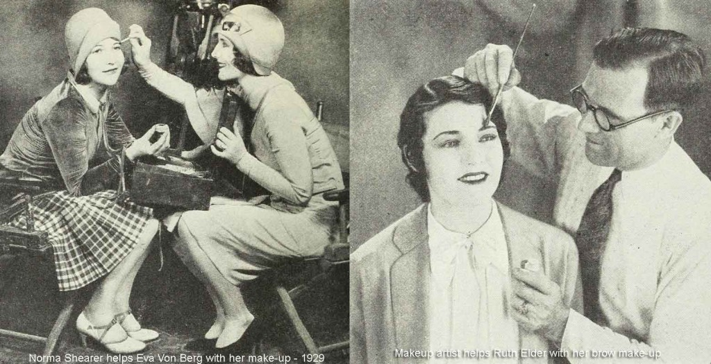 1920s fashion - Hollywood-makeup---1920s