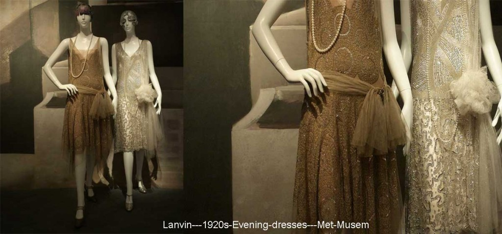 1920s fashion -Lanvin---1920s-Evening-dresses---Met-Musem