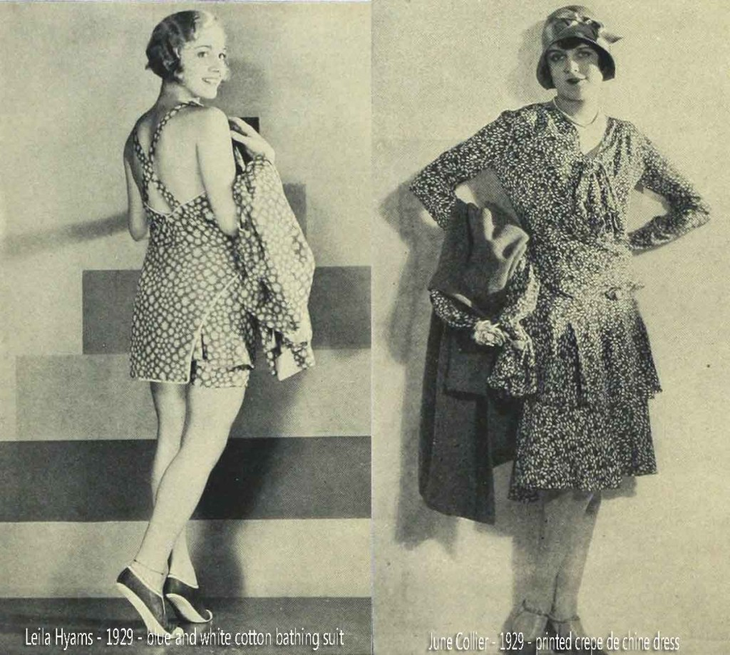 Leila-Hyams---June-Collier-1929---summer-fashions
