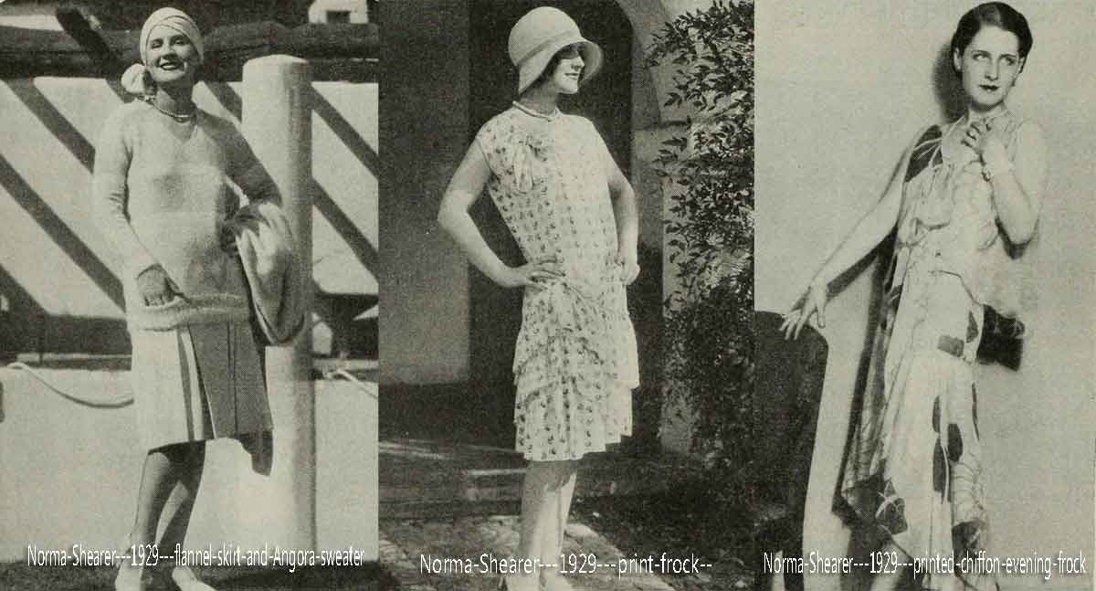 1920s Fashion Hollywood Summer Style Report For 1929 Glamourdaze