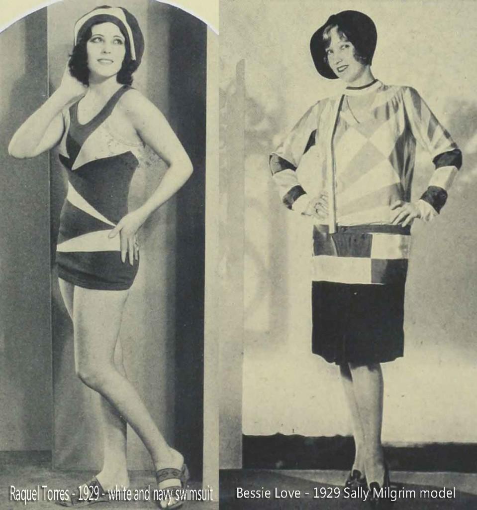 Raquel-Torres---Bessie-Love---1929-summer-fashions