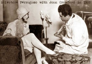 Salvatore-Ferragamo-with-Joan-Crawford-in-1928