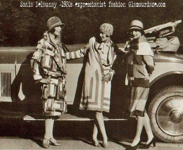 Sonia-Delaunay---1920s-expressionist-fashion