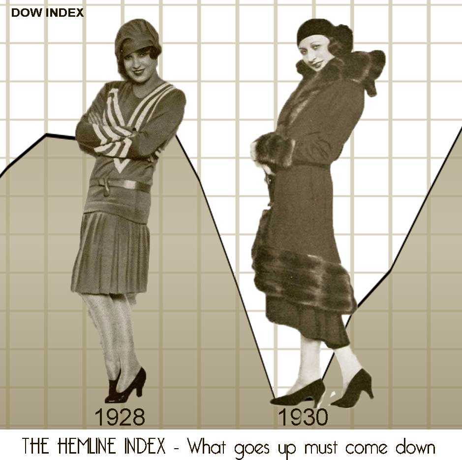 1920s fashion - The-Hemline-Index-Theory