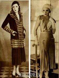 bebe-daniels---The-new-1930s-silhouette---lower-skirt-hems