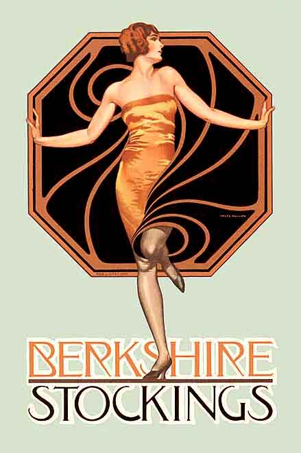 1920s fashion - Berkshire stockings--1920s--coles phillips