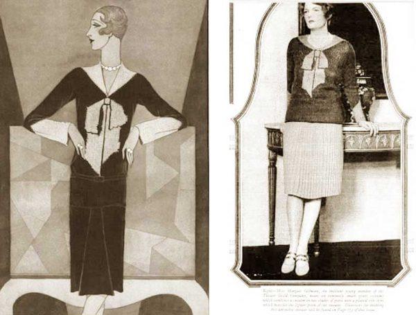 elsa-schiaparelli-trompe-l'oeil-sweater-1927-vogue