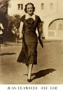 joan-crawford--The-new-1930s-silhouette---lower-skirt-hems