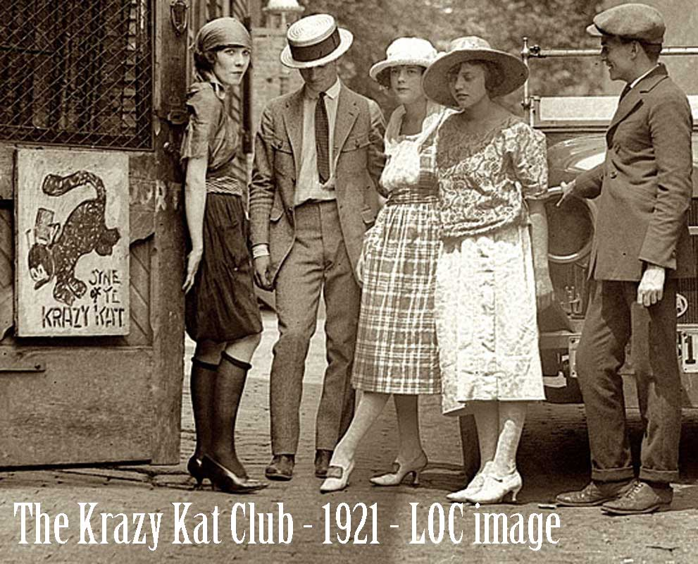 1920s fashion - krazy-kat-club-1921